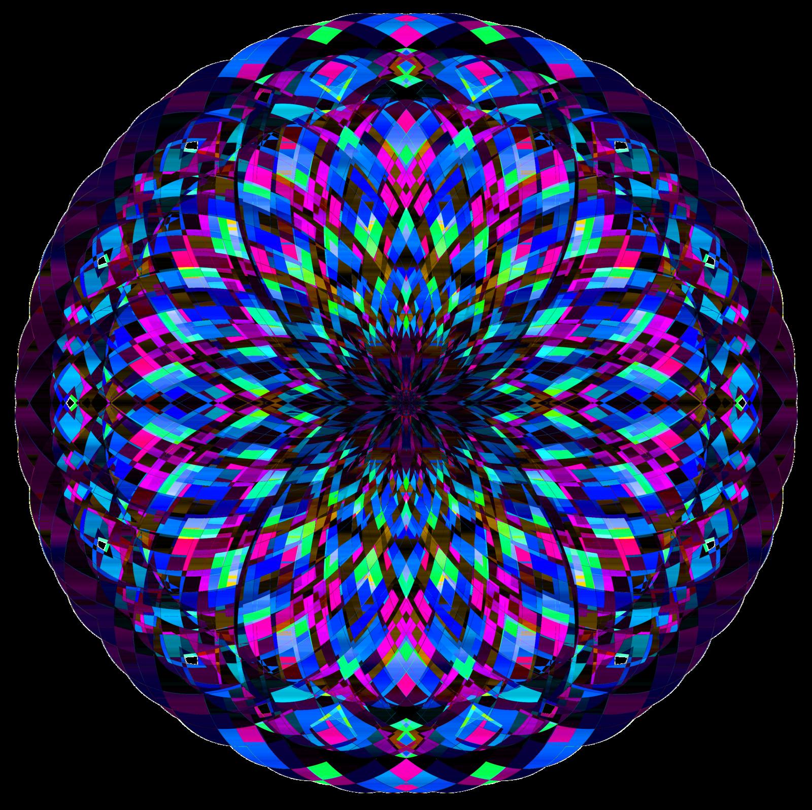 Kaleidoscope PNG Image.
