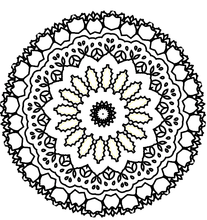 Kaleidoscope PNG Picture.