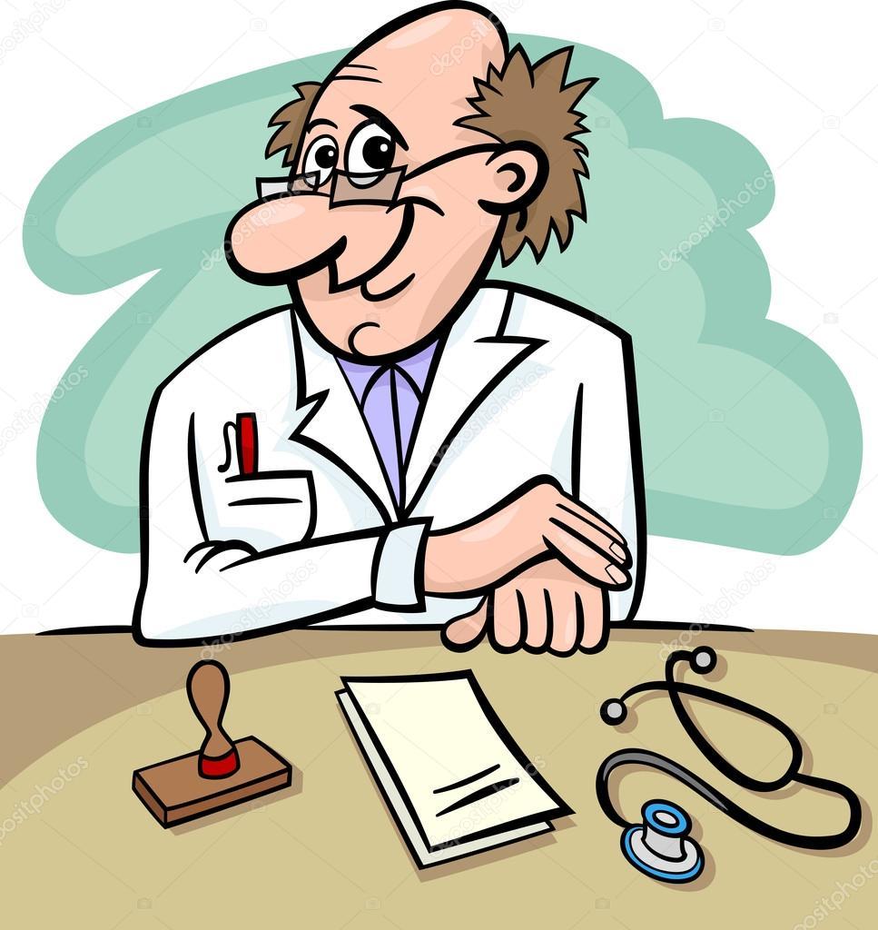 Clinic Cartoon.