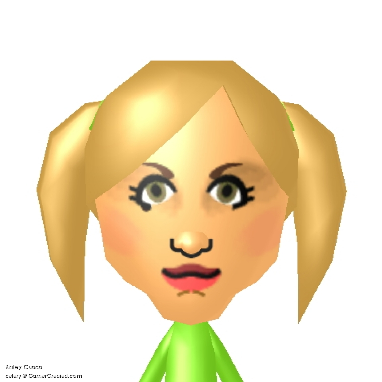 GamerCreated.com » Mii » Kaley Cuoco.