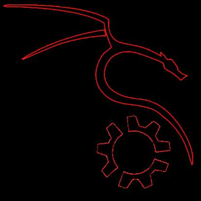 KDE Kali Linux Logo.