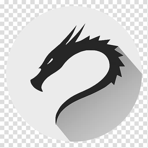 Dragon , Kali Linux Android, linux transparent background.
