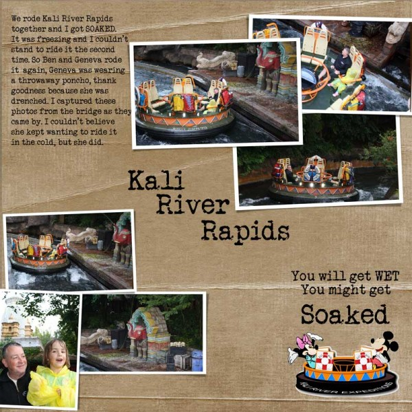 Kali River Rapids.