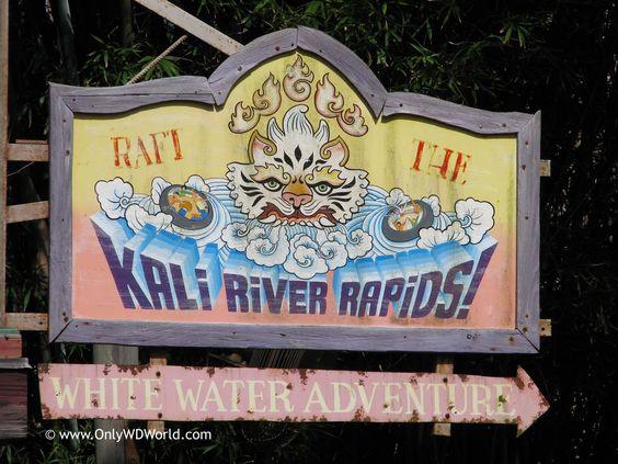 Kali River Rapids Raft Ride in Asia section of Disney's Animal.