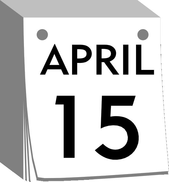 Clipart Kalender.
