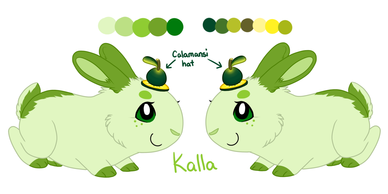 Kalla Reference Sheet by Clumsy.