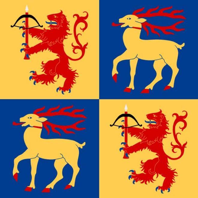 FLAG OF KALMAR.