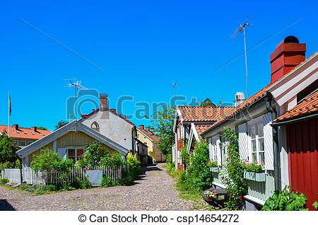 Picture of Kalmar old town.