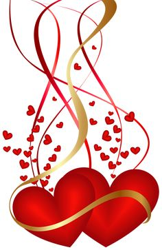 Transparent Valentines Day Heart PNG Picture.