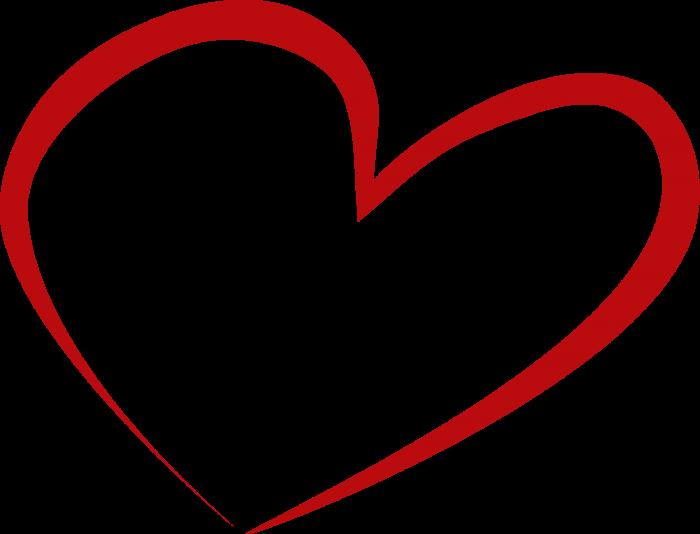 Kırmızı Kalp Png Vector, Clipart, PSD.