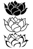 Lotus flower Illustrations and Clipart. 2,066 lotus flower royalty.