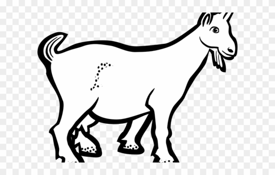 Goat Clipart Kambing.