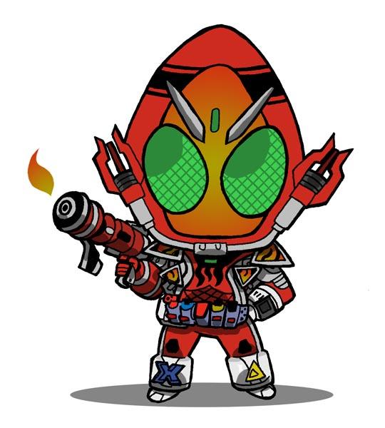 Kamen Rider Cartoon.