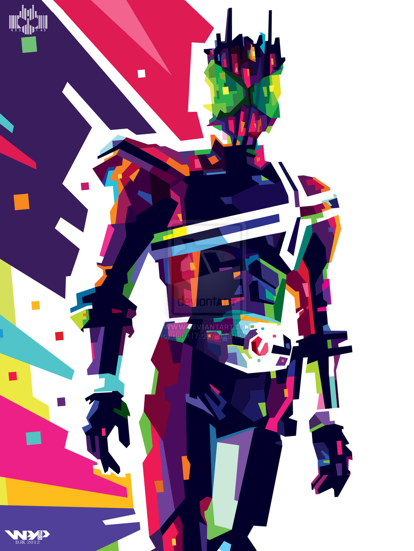 Kamen Rider Decade Clipart.