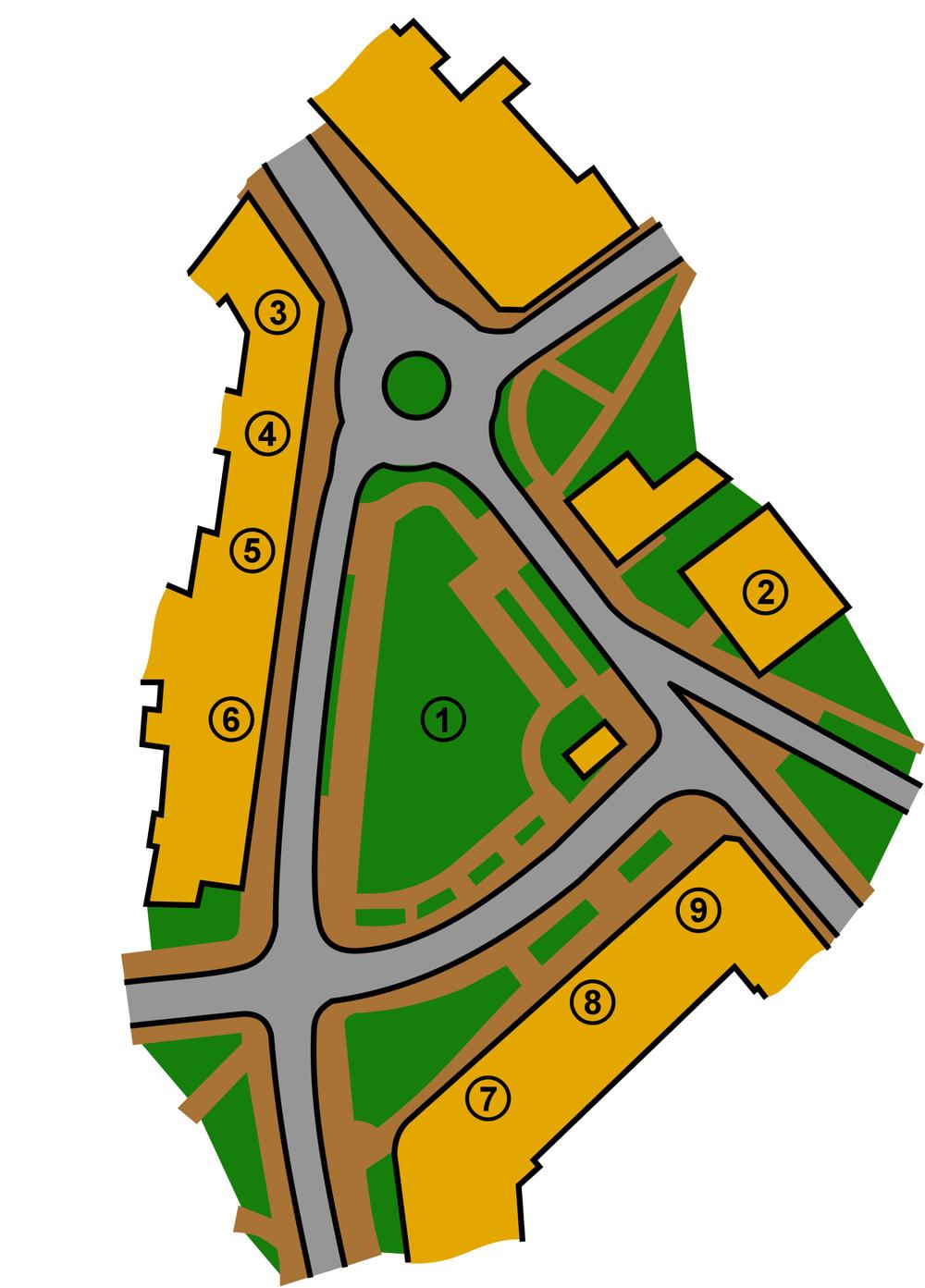 Plac Wolności w Raciborzu.