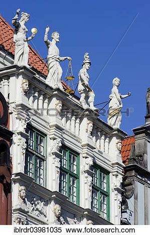 "Stock Image of ""Golden House, Zlota Kamienica, on the Long Market."