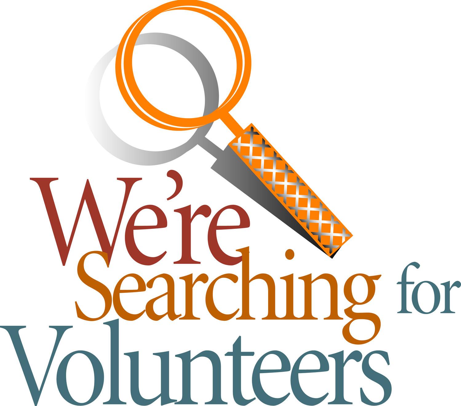 Volunteer Opportunity.