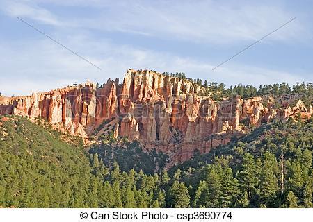 Stock Photo of Kanab Utah Colored Rocks.