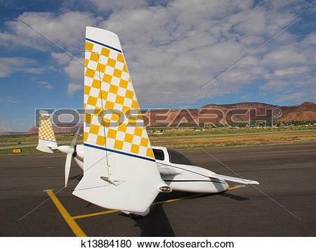 Stock Photography of Rutan Fly.