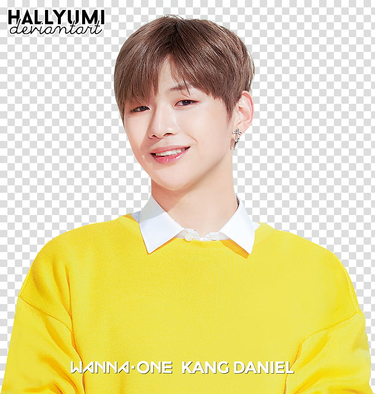 WANNA ONE, Kang Daniel transparent background PNG clipart.
