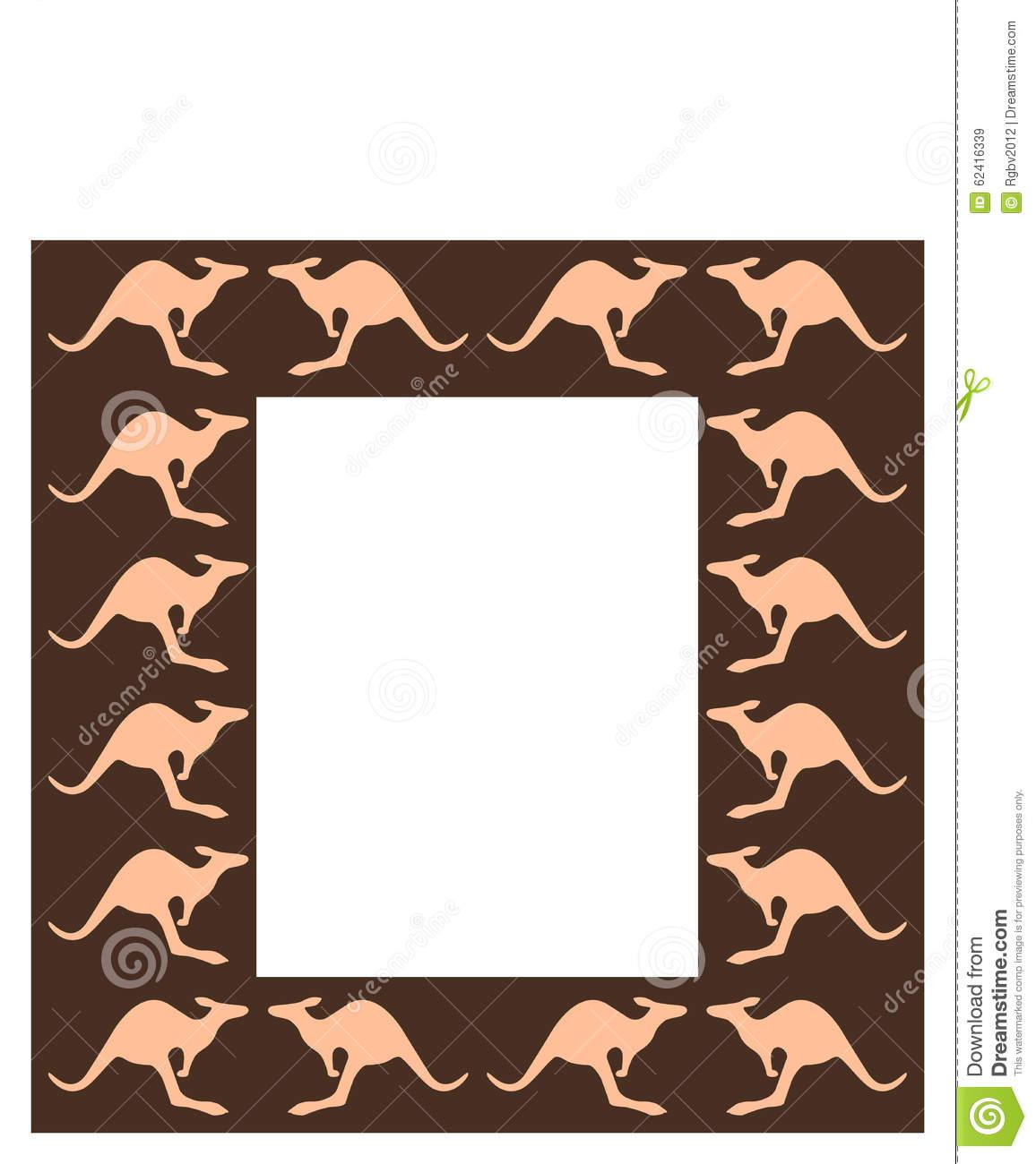 Decorative Frame Stock Photo.