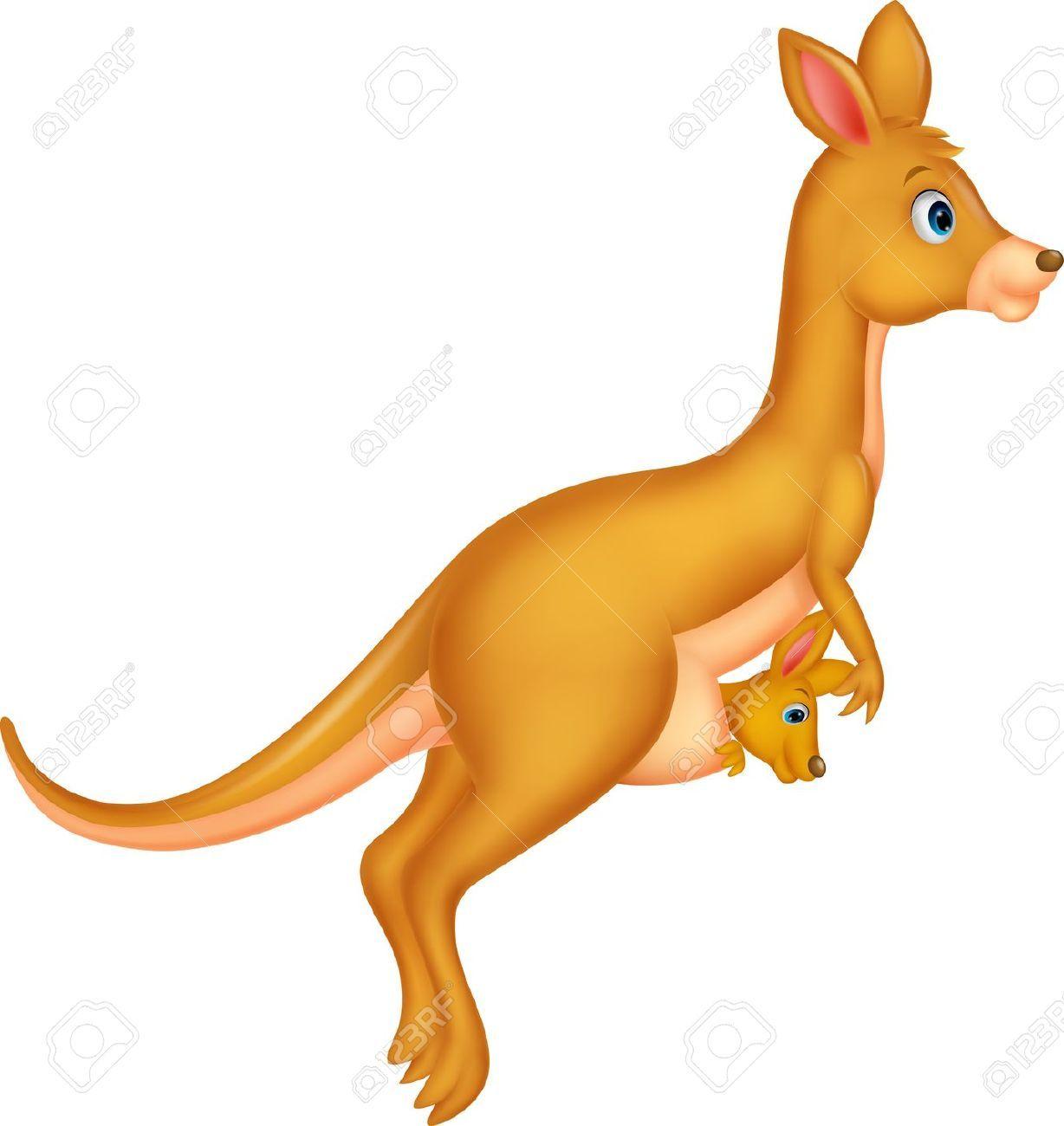 Jumping kangaroo clipart 1 » Clipart Portal.