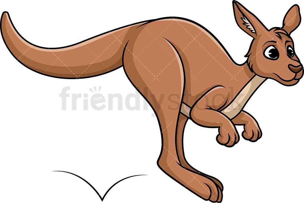 Leaping Kangaroo.