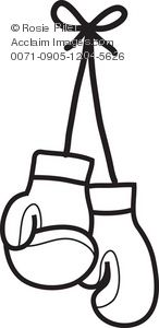 Image result for boxing gloves drawing.