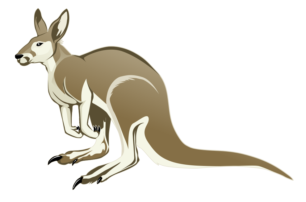 Free to Use & Public Domain Kangaroo Clip Art.