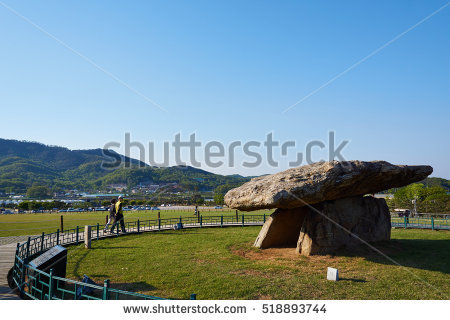 Dolmen Korea Stock Photos, Royalty.