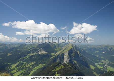 Bregenzerwaldgebirge Stock Images, Royalty.
