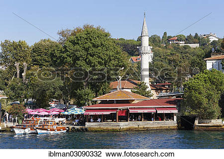 "Stock Photo of ""Shore of the Bosphorus or Bosporus, Bosporus."