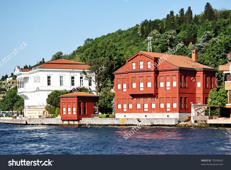 Istanbul Kanlica Villa Yedi Sekiz Hasan Stock Photo 73200643.