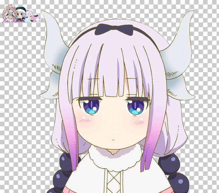 Miss Kobayashi\'s Dragon Maid Chinese dragon Kamuy, Kanna.