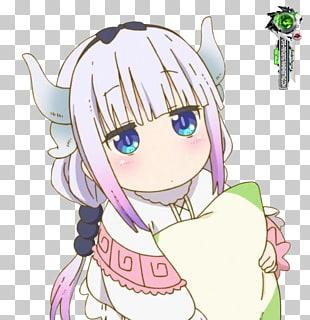 Miss Kobayashi\'s Dragon Maid Anime Moe Mangaka, Kanna kamui.