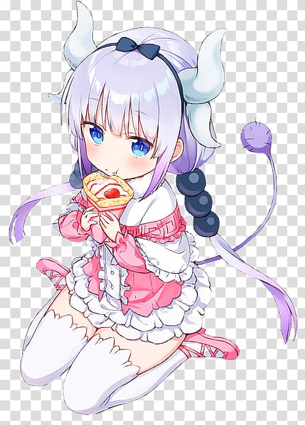 Miss Kobayashi\'s Dragon Maid Kamuy Kavaii Anime, Kanna kamui.