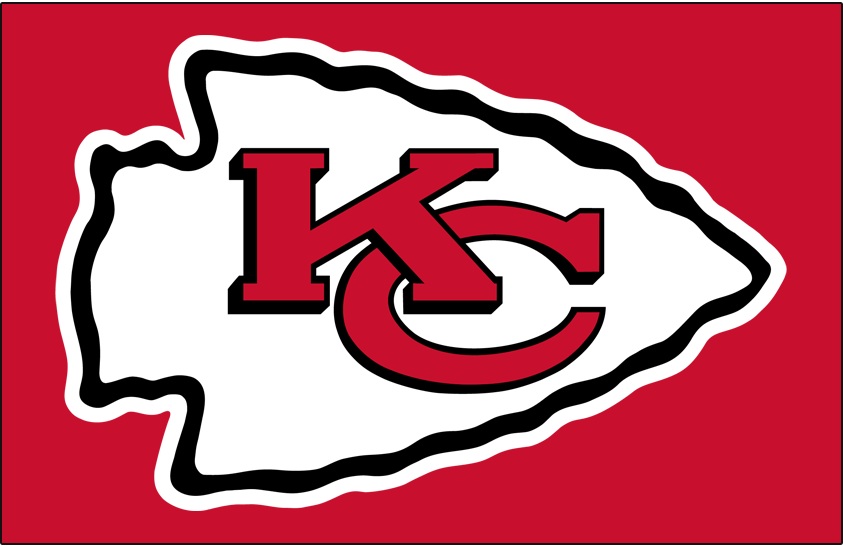 Kansas City Chiefs Primary Dark Logo.