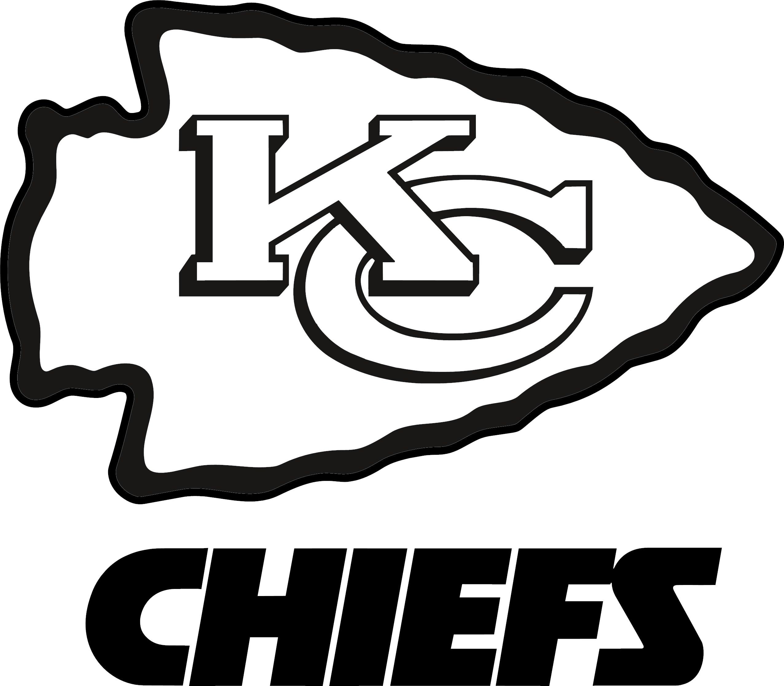 Kansas City Chiefs Clipart Logo.