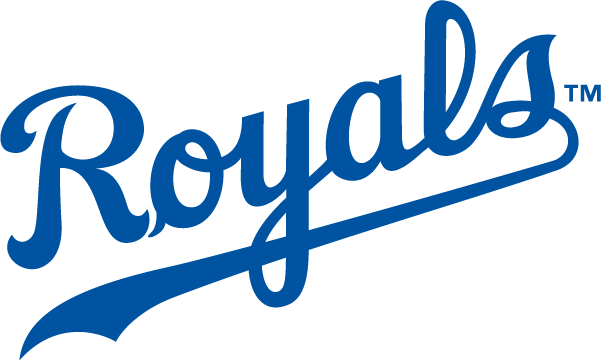 Kansas City Royals Text Logo transparent PNG.