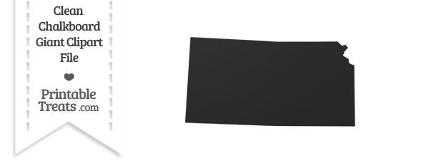Giant Kansas State Clipart.