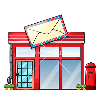 A post office vector by iimages.