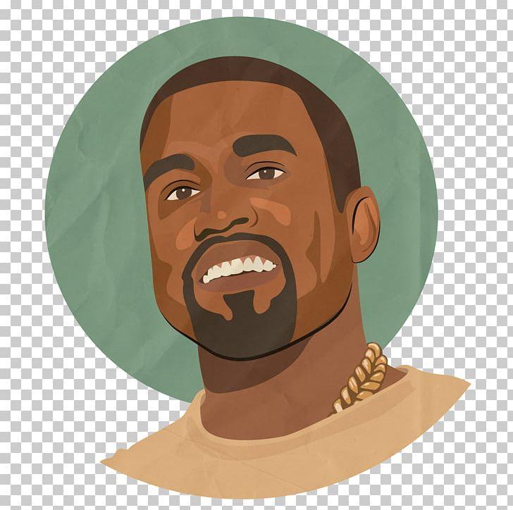 Kanye West Cartoon Rapper PNG, Clipart, Art, Art Museum, Beard.