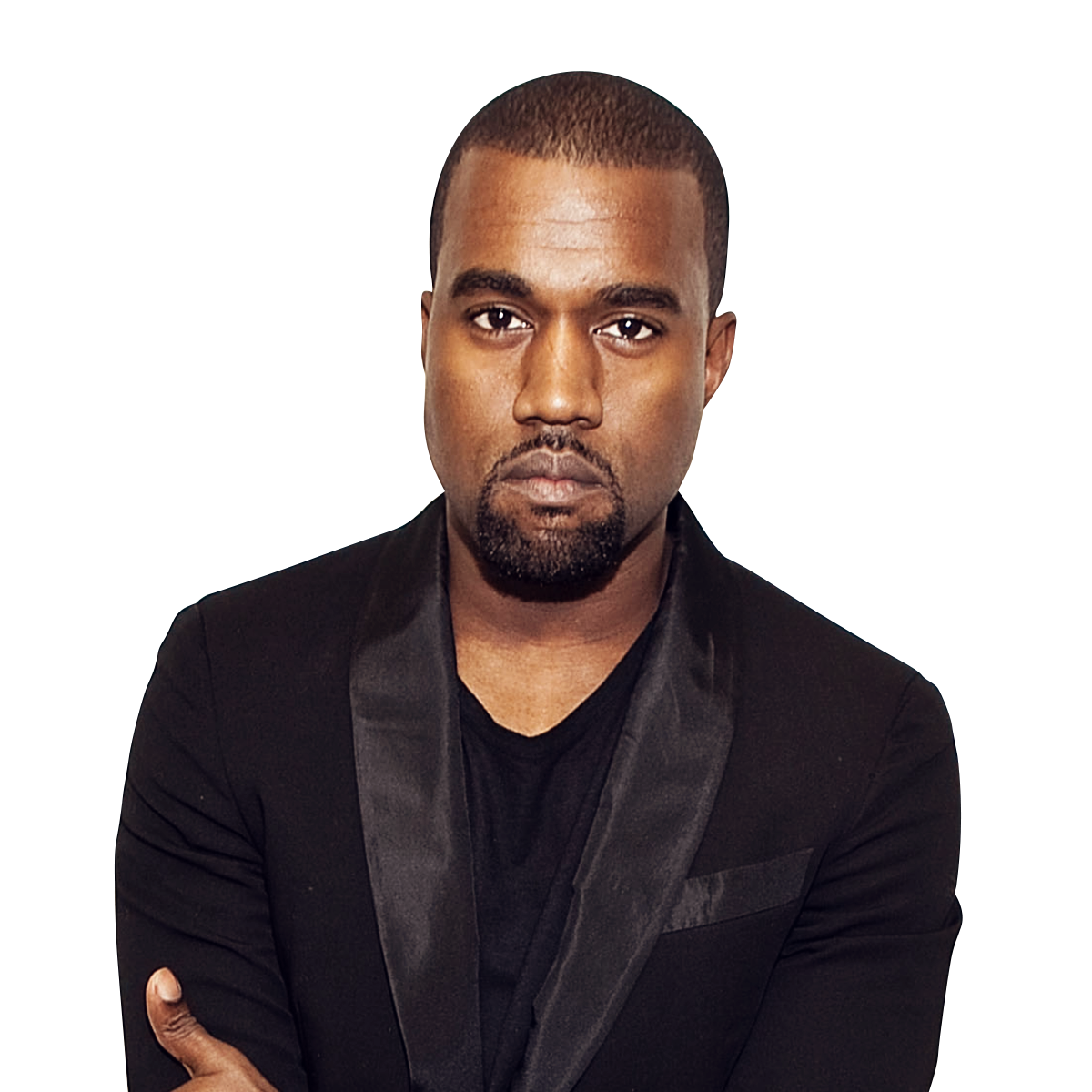 Kanye West Suit PNG Image.