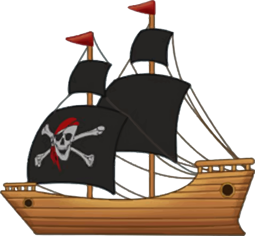 544 sailing ship clip art.