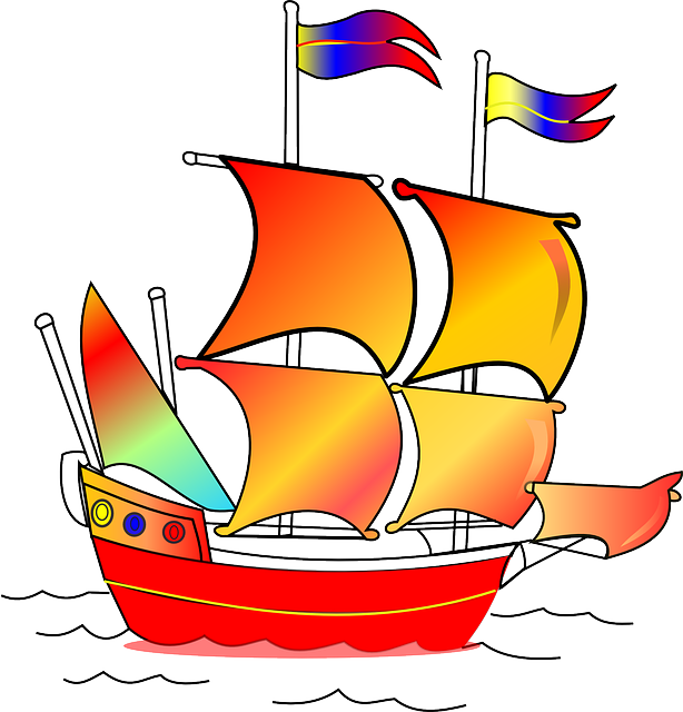 Sailing Flags Clipart.
