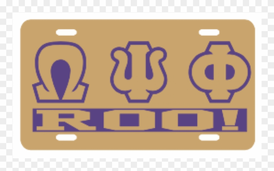 Omega Psi Phi Png.