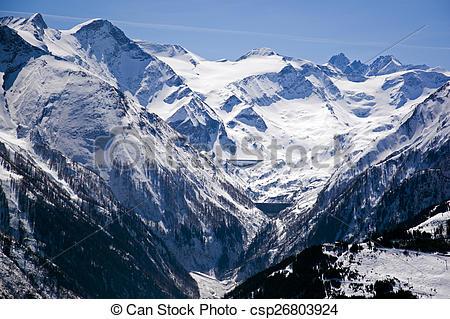 Stock Photo of Kaprun, Austria.
