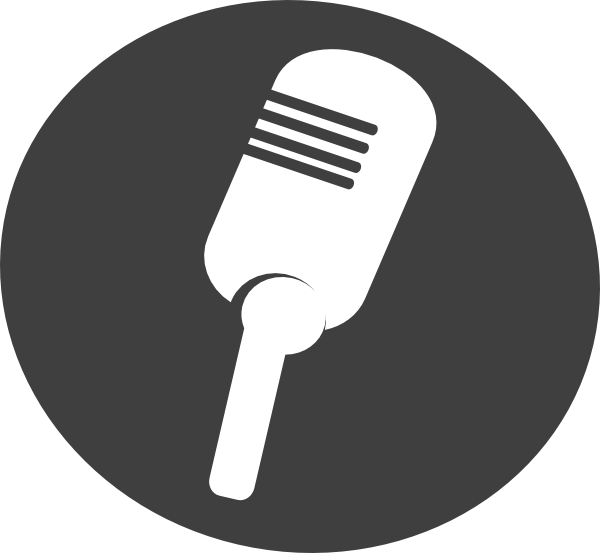 Karaoke microphone clipart.