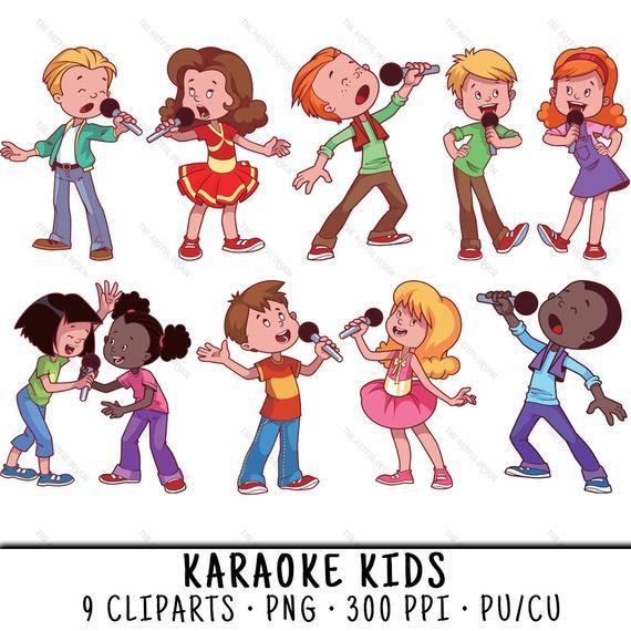Karaoke Clipart, Karaoke Clip Art, Clipart Karaoke, Clip Art Karaoke,  Karaoke Kids Clipart, Karaoke Party PNG, Karaoke Kids, Kids Karaoke.
