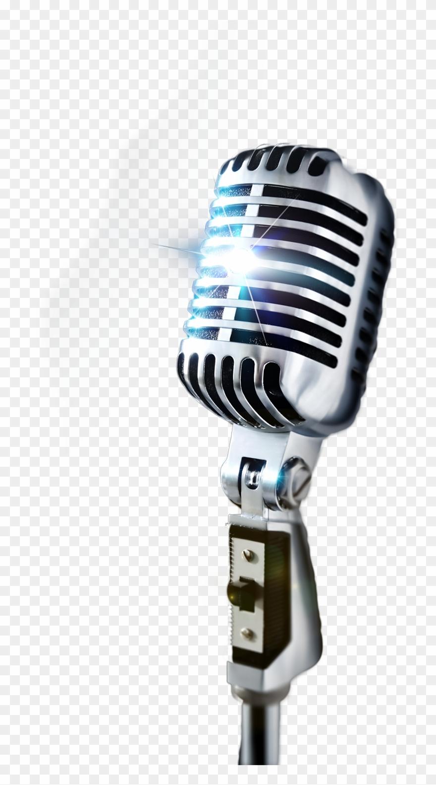 Karaoke Clipart Micrphone.
